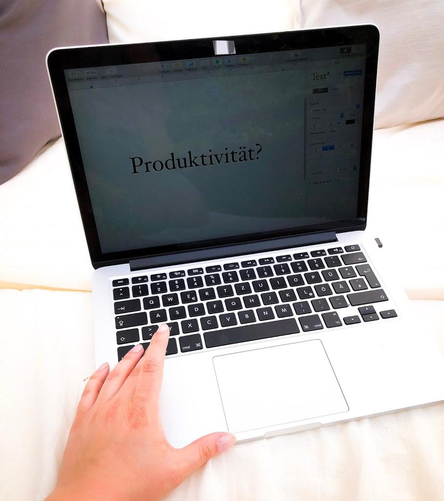Produktiver durch den Alltag – meine Tipps!